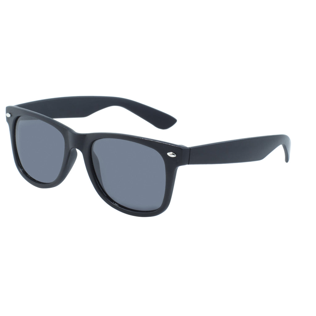 BlueWater Black Frame w/Polarized Grey Lens Sunglasses