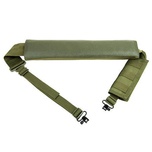 NcStar Shotgun Bandolier/Sling w/Swivels Green