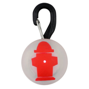 Nite Ize PetLit LED Collar Light Red Hydrant