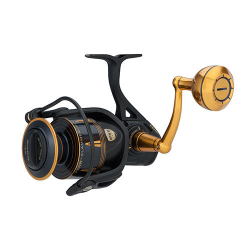 "Penn Slammer III Spinning Reel 6500, 5.6:1 Gear Ratio, 42"" Retrieve Rate, 40 lb Max Drag, Ambidextrous"