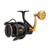 "Penn Slammer III Spinning Reel 7500, 4.7:1 Gear Ratio, 38"" Retrieve Rate, 50 lb Max Drag, Ambidextrous"