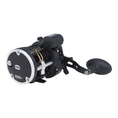 Penn Rival Level Wind Conventional Reel 20, 5.1:1 Gear Ratio, 2 Bearings, 28
