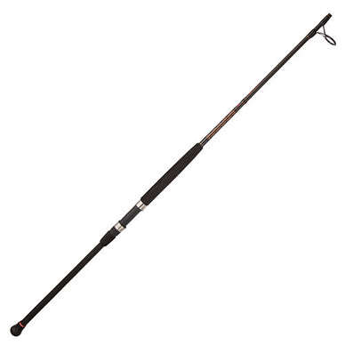 Penn Squadron II Surf Spinning Rod 8' Length, 2 Piece Rod, 12-20 lb Line Rate, 3/4-3 oz Lure Rate, Medium Power