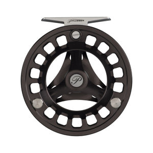 Pflueger Patriarch Fly Reel 5/6 Reel Size, 1.1:1 Gear Ratio, WF5+65 Line Capacity, Ambidextrous
