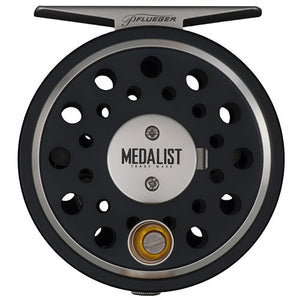 Pflueger Medalist Fly Reel 5/6 Reel Size, Gear Ratio: 1.1:1. WF5+125 Line Capacity, Ambidextrous