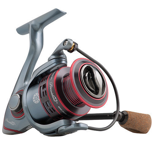 "Pflueger President XT Spinning Reel 35, 6.2:1 Gear Ratio, 10 Bearings, 27.40"" Retrieve Rate, Left Hand"