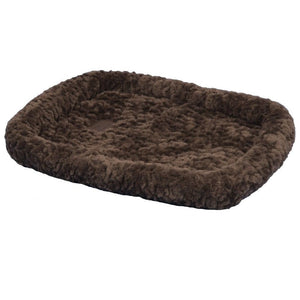 Precision Pet  SnooZZy Cozy Bumper Bed- 1000-Chocolate