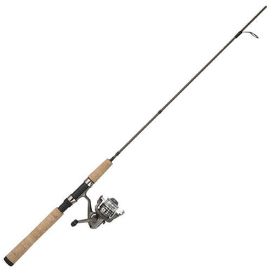 Shakespeare Micro Series Spinning Combo 1 Bearing, 7' Length, 2 Piece Rod, 2-6 lb Line Rating, Ultra Light Power