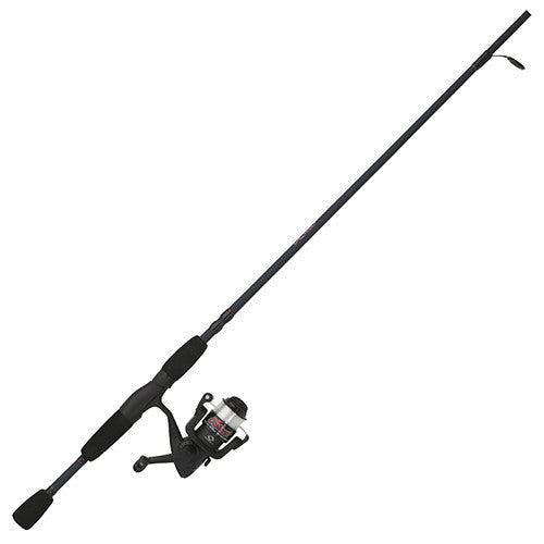 "Shakespeare Outcast Spinning Combo 30, 1 Bearing, 5'6"" Length, 2 Piece Rod, 6-12 lb Line Rating, Light Power"