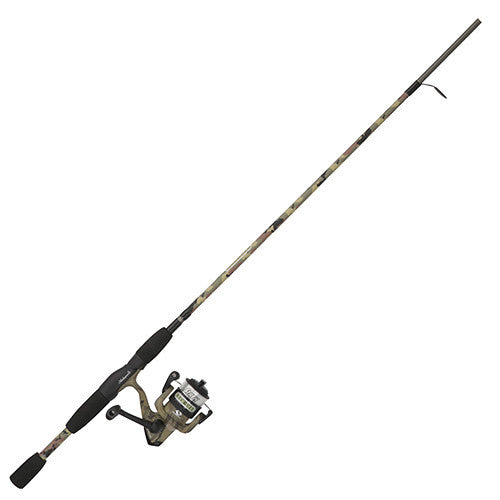 "Shakespeare Recurit Spinning Combo 30, 1 Bearing, 6'6"" Length, 2 Piece Rod, 6-12 lb Line Rating, Medium Power"