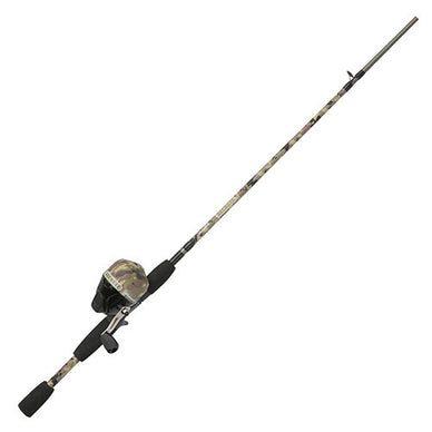 Shakespeare Recurit Spinning Combo 30 Reel Size, 6' Length, 2 Piece Rod, 6-12 lb Line Rating, Medium Power