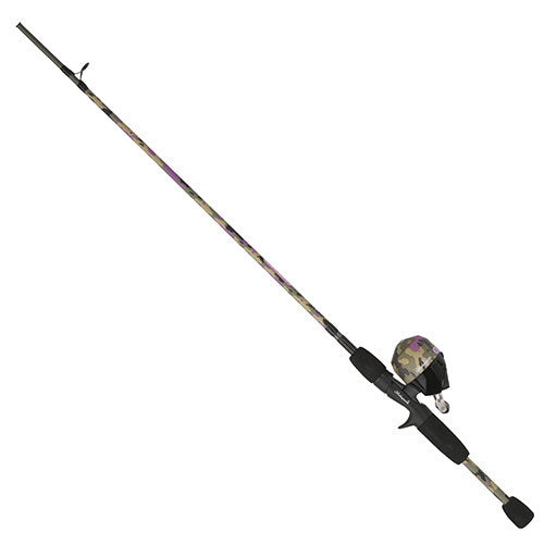 "Shakespeare Lady Recurit Spinning Combo 6 Reel Size, 5'6"" 2pc Rod, 6-12 lb Line Rate, Medium Power"