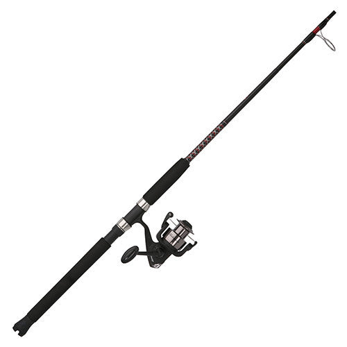 "Shakespeare Ugly Stik Bigwater Trolling Combo 60 Reel Size, 2 Bearings, 6'6"" 2pc Rod, 10-25 lb Line Rating, Medium Power"