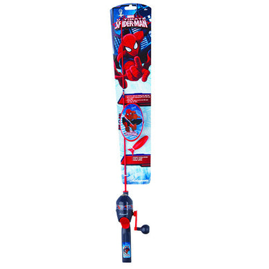 Shakespeare Youth Fishing Kits Spiderman with Tackle Box