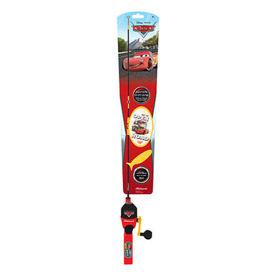 Shakespeare Youth Fishing Kits Disney Cars with Tackle Box