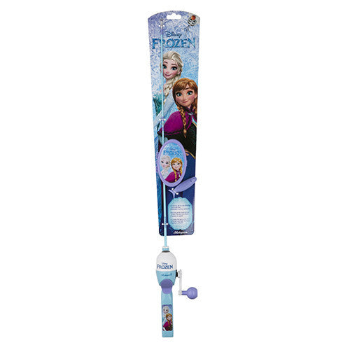 Shakespeare Youth Fishing Kits Disney Frozen with Tackle Box