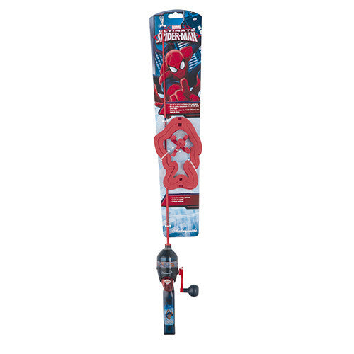 Shakespeare Youth Fishing Kits Spiderman, Lights