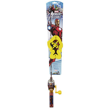 Shakespeare Youth Fishing Kits Ironman, Lights
