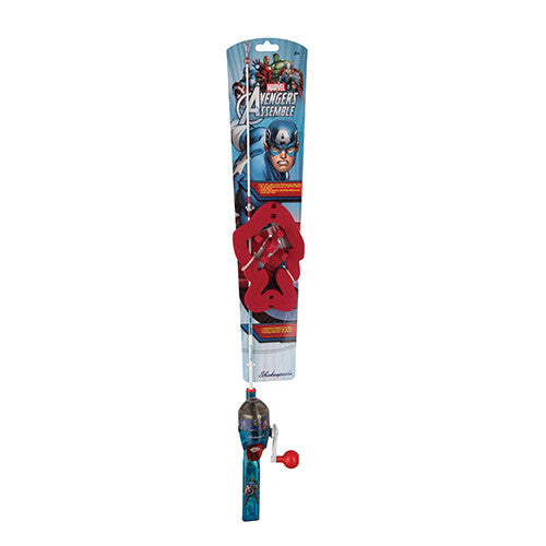 Shakespeare Youth Fishing Kits Captain America, Lights