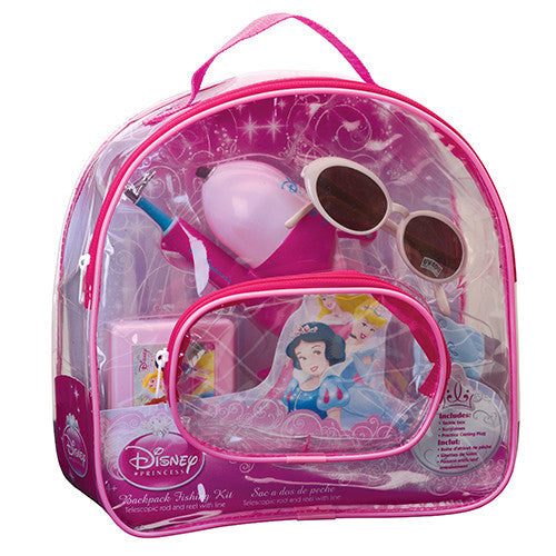 Shakespeare Youth Fishing Kits Disney Princess, Backpack