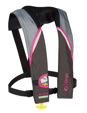 A-24 In-Sight Automatic Inflatable Life Jacket (PFD) - Pink