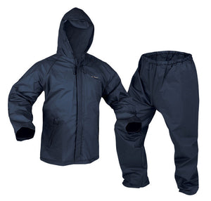 Adult EVA Rainsuit Medium - Navy Blue