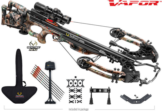 Vapor Crossbow And Scope Package With ACU Draw