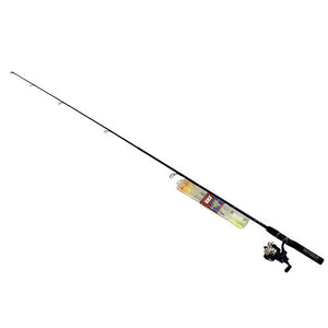 Zebco / Quantum 20 Medium Spinning Combo Fishing Rod with Tackle Wallet, Red/Blue