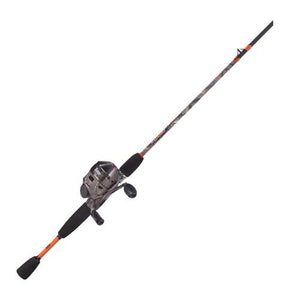Zebco / Quantum 33 Camo 6' 2 Piece Medium Spincast Combo