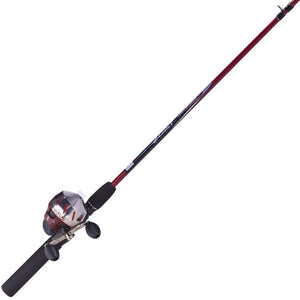 Zebco / Quantum 202 Series Combo 6' 2 Piece Spincast, Medium Action