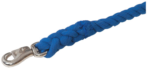 "3/4"" Thick Colored Cotton Leads with Bull Snap"