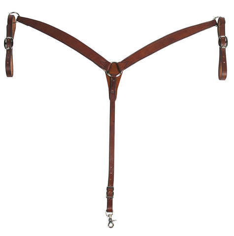Chestnut Leather Breast Collar
