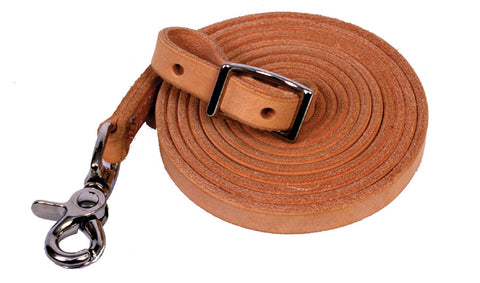 Leather Roping Reins - 5/8""