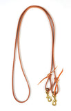 "Leather 1/2"" & 5/8"" Roping Reins"