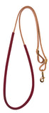 Suede Wrapped Barrel Reins
