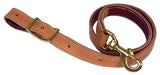 Latigo Lined Leather Tie Downs