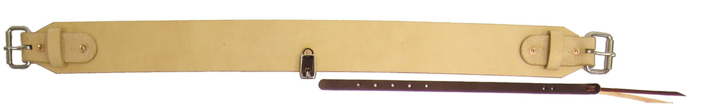 "3"" Natural Single-Ply Leather Flank Cinch"