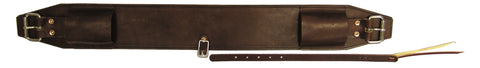 "4"" Double-Ply Leather Flank Cinch"