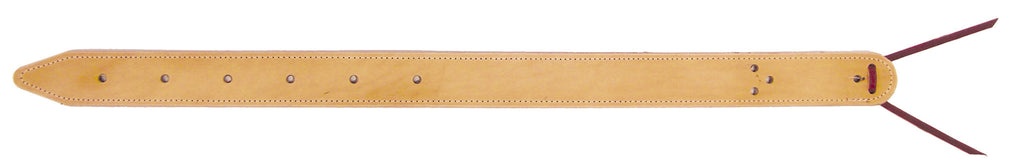 Natural Double-Ply Leather Flank Billet
