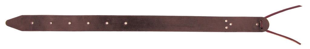 Brown Single-Ply Leather Flank Billet