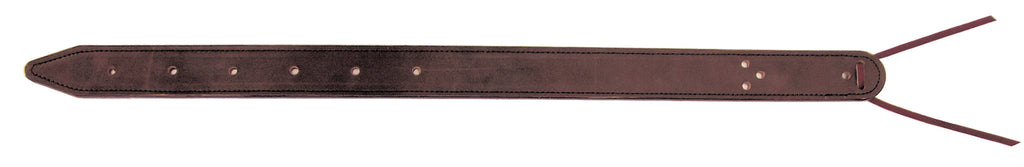 Brown Double-Ply Leather Flank Billet