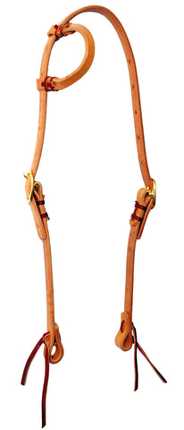 Hand-tied Slip-Ear Headstall