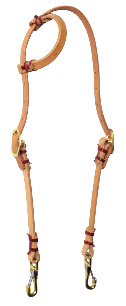 Hand-tied Slip-Ear Training Headstall
