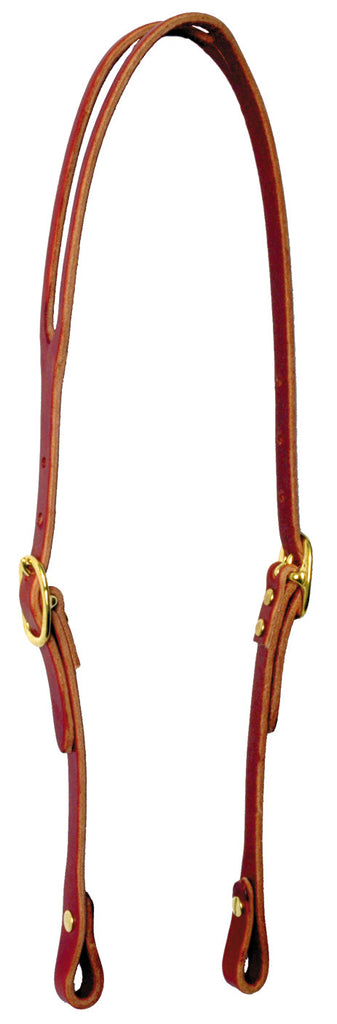 Slip Ear Bridle Leather Headgear