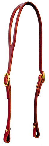 Shaped-Ear Bridle Leather Headstall