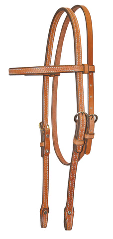 Basket Tooled Headstall