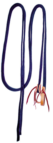 Split Reins with Leather Water Loops