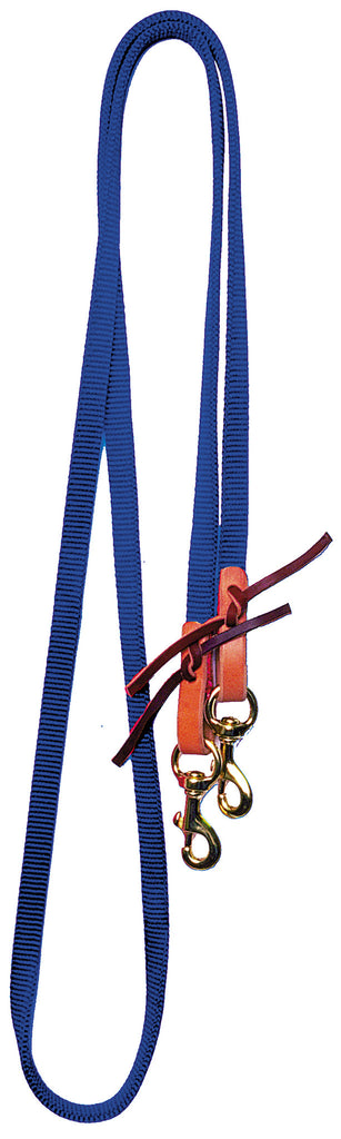 Roping Reins with Leather Water Loops