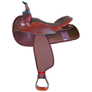 "The Big 'Un Saddle - 19"" Seat #7136"