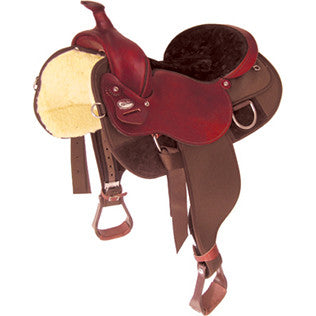 Extra Wide Draft Saddle